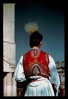 Hungarian man's traditional wear Rábaköz, Szany