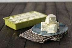 """Whipped Dairy-Free Butter (vegan, paleo)  Yields:  approx. 2 c. """"butter""""   1 c. organic virgin coconut oil  1 c. organic extra virgin olive oil  1 t. sea salt (optional, use if you enjoy salted butter)"""