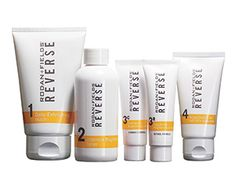 People are going to stare. Make it worth their while! REVERSE™ BRIGHTENING REGIMEN for the appearance of skin dullness, discoloration, and uneven skin tone.