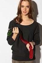 Urban Outfitters - Worlds largest gummy worm, remember this has to pass through your GI tract...ouch