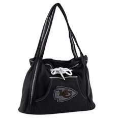 NFL Kansas City Chiefs Sport Noir Hoodie Purse Black ** More info could be found at the image url.