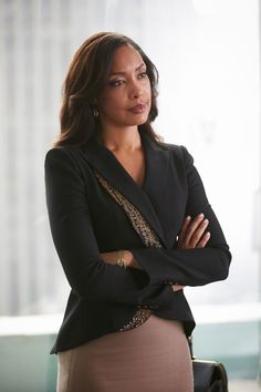 Gina Torres in Suits #business #fashion