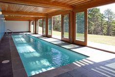 крытый бассейн в загородном доме - Поиск в Google