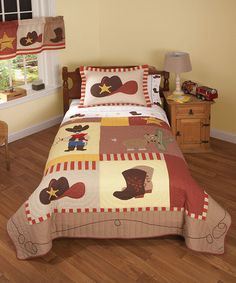 Take a look at this Old West Quilt Set by Pem America on #zulily today!