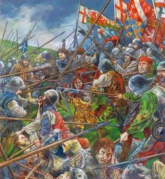Battle of Flodden (9 September 1513) was fought in the county of Northumberland in northern England on 9 September 1513, between an invading Scots army under King James IV and an English army commanded by the Earl of Surrey. It was a decisive English victory.