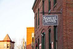 Sam Adams Brewery Tour, Boston, Mass