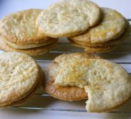 Lavender Butter Cookies - would like to try making a savoury version of these.