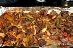 Oven Baked Steak Fajita Quesadillas