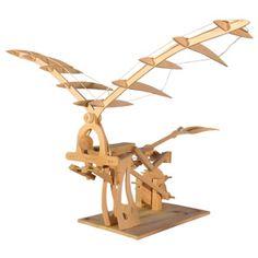 Leonardo da Vinci Ornithopter Kit - Building Sets & Blocks - MetKids - The Met Store