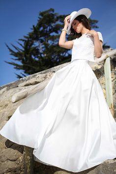 Felicie - Collection 2016 - Marie Laporte - marie-laporte.fr #Wedding #marielaporte #collection2016 #paris #mariage #creatrice #robes #mariee #dress