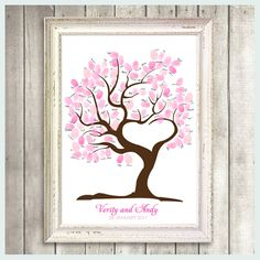 I think this would be REALLY cute for a little girl baby shower. Everyone fingerprint it.  Then you could hang it up in their room and they could be reminded of all the people that love them - do you like this idea, @Richelle Goff