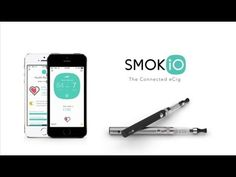 Smokio | An app-connected e-cigarette that tracks every puff and monitors the user's vitals and recovery after they quit smoking tobacco. | PSFK