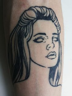 stefano-bonalume:   Lana Del Rey Tattoo.