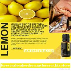 Forever Living provides nature's purest Lemon Oil to support the immune system and promote healthy digestion http://www.foreveraloeaberdeen.myforever.biz/store #essentialoilsfromforever #essentialoils #forever #newrange #lemon #lemonessentialoils #FGR15 #aloevera