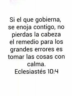 Eclesiastés 10:4