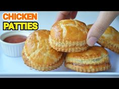 Chicken Patties by (YES I CAN COOK) - YouTube Reshmi Kebab, Buy Chickens, Chicken Patties, Baked Chicken, Yummy Food, Eid Collection, Bread, Cook, Canning