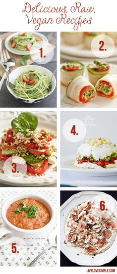Whole Foods: Delicious, Raw, Vegan Recipes from livelovesimple.com