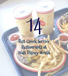 """Disney World Food and Restaurants 