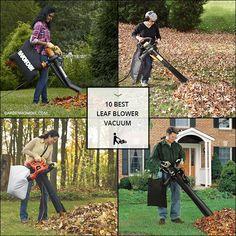 10 Best Leaf Blower Vacuum Garden Power Tools, Leaf Blower