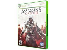 Assassins Creed II para Xbox 360 com as melhores condições você encontra no  site do Magazine 76be840b5d2e5