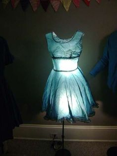 Vintage Clothing Lamps