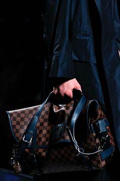 53ce3204e03 Louis Vuitton 2013 Men s Spring Summer Damier Macassar Small Leather Goods