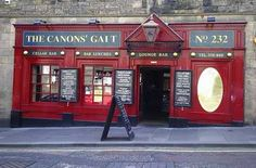 Best of Edinburgh Pubs - The Canons' Gait 232 Canongate, Edinburgh and only a short walk if you are staying at Craigwell Cottage www.2edinburgh.co.uk