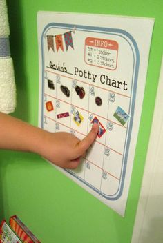 Potty Chart. Love this but as a sleep chart