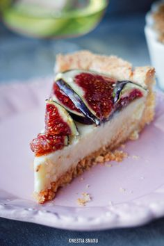 Fig & Custard Tart