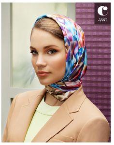 Cacharel Scarf 2012-13 Fall / Winter  www.cacharelscarf.com  #scarf #cacharel #aker #esarp #hijab #fashion #silk #scarves