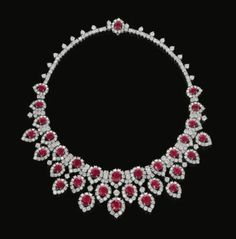 diamonds and rubies always a delight from royal collection
