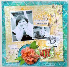 Joy *Pink Paislee Mistables* - Scrapbook.com