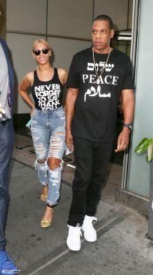 Beyoncé & Jay In New York 11.05.2015