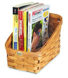 I love baskets. This company has lots of very nice ones. All made in USA