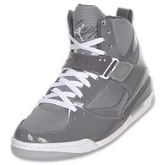 The Jordan Flight 45 combines elements of Jordan and Nike Basketball shoes from the past, the most promenient being the outsole taken from the Air Jordan 3. Now available in a high-top design.