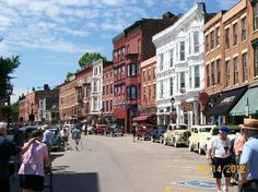 ✔ - I love this place! Neat little shopping district!! Plus this is my go-to for wine! :-) - Main Street Galena, Illinois