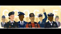 Veterans Day google doodle 2015 - YouTube
