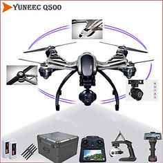 Yuneec+Typhoon+Q500+5.8+GHz+4-axis+4K+Camera+Drone+Double+Batteries+Complete+with+Gimbal,+Camera+and+Hand-held+Gimbal+–+EUR+€+1,665.99