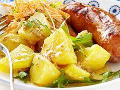 Sinappinen perunasalaatti - Reseptit Potato Salad, Salads, Pork, Potatoes, Ethnic Recipes, Sweet, Foods, Kale Stir Fry, Candy