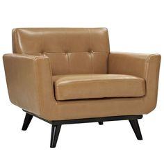 Deer Park Leather Arm Chair