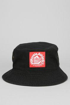 5f5764e3b4fe9 Milkcrate Athletics Black Twill Bucket Hat Athletics