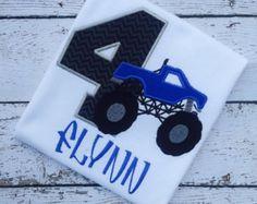 Monster Truck Birthday Party Printable Invitation DIY Best