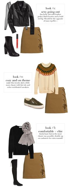 how to style 1 skirt
