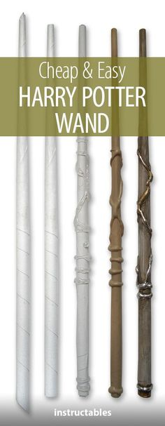 Make an Awesome Harry Potter Wand From a Sheet of Paper and Glue Gun Glue Compliment your witch or wizard costume with a cheap and easy Harry Potter wand made from paper and hot glue! Harry Potter Wands Diy, Harry Potter Witch, Harry Potter Halloween Costumes, Harry Potter Props, Harry Potter Theme, Harry Potter Birthday, Halloween Cosplay, Harry Potter Enfants, Baguettes Harry Potter