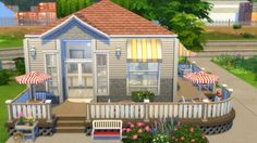 Totally Sims: The Tiny Cake Shop • Sims 4 Downloads