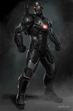 War Machine Civil War concept art