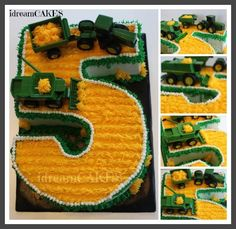 John Deer Number 5 Harvest Cake