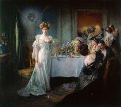 Impressioni Artistiche : ~ Julius LeBlanc Stewart ~ American artist, 1855-1919
