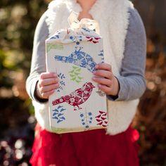 In the Birches #tinyoilve #giftbag #christmas