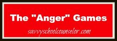 The Anger Games- Two games to use with your anger management groups- savvyschoolcounselor.com